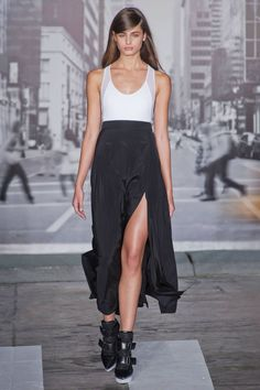 NEW YORK - DKNY #runway #fashion #nyfw