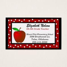 Substitute Teacher Business Card Template Teaching Business - Substitute teacher business card template