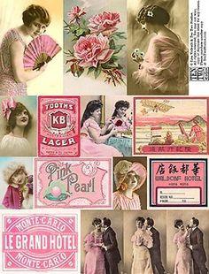 Free Dollhouse Printables | miniature printables
