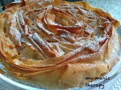 He descubierto esta receta vicheando por la red y enseguida la he tenido que hacer. Es una tarta hecha con láminas de pasta filo y luego una...