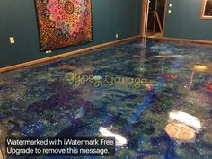 Did my shop floor with Unicorn SPiT!