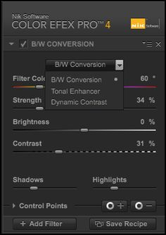BW Conversion Filter