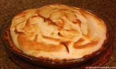 """We called it """"Mashed Cookie Pie"""".Actually called """"Lemon Icebox Pie"""".1 can sweeted condensed milk,5 yokes,1/2 cup lemon juice,1 graham cracker crust.Slap whipped cream on it & BAM!!! Meringue also works nicely."""