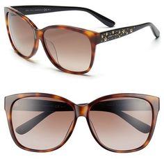 Jimmy Choo 'Chantys' 58mm Sunglasses