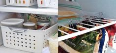 Το ψυγείο είναι μια από τις οικιακές συσκευές που σας ταλαιπωρούν εξαιτίας της... ακαταστασίας που επικρατεί στο εσωτερικό του; Δείτε πώς θα το οργανώσετε για να το κάνετε πρακτικό για όλη την οικογένεια. Plastic Laundry Basket, Organization, Organizing Ideas, Household, Cleaning, Home Decor, Getting Organized, Organisation, Decoration Home