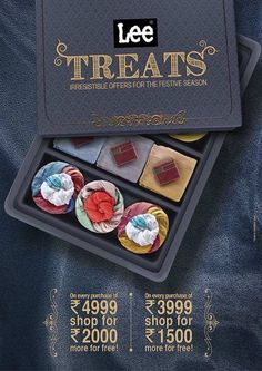 Lee Treats - Irresistible Offers for the festive season   Deals, Sales, Offers, Discounts in Mumbai   mallsmarket.com