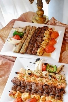 Persian food makes me want a grill.