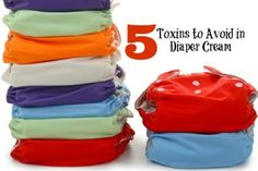 5 toxins to avoid in diaper cream