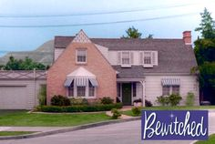 Bewitched TV show house on 1164 morning glory circle