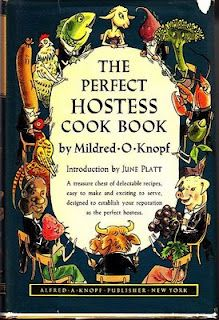 "The Perfect Hostess Cook Book - per Saveur, the most commonsensical 1950s cookbook.  ""If you love good food, you can cook good food."""
