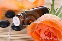 Aromatherapy recipes using essential oils for calming and relaxing.