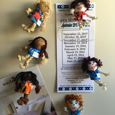 Cute magnetic baby dolls in patriotic and tropical dresses! Get yours!