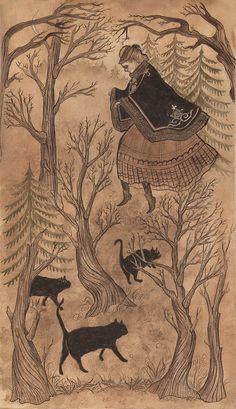 """Tiptoe"" by swanbones (Kelly Louise Judd)"