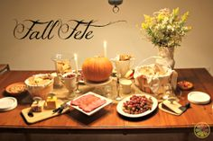 fall party ideas | Fall is my favorite season. I embrace the cooler temperatures and ...