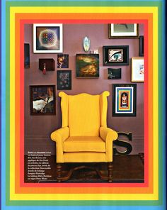 Technicolour dream home - Solange Azagury's home as featured in Architectural Digest