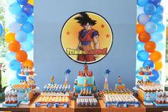 Encontrando Ideias: Festa Dragon Ball Z