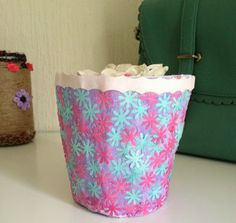Paper mache pots paper mache diy paper mache plant pot mightylinksfo Image collections