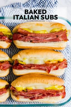 The Classic Italian Sub Sandwich is the ultimate game day meal, full of salami and ham, melted provolone cheese and banana peppers on toasted Italian rolls. recipes Italian Sub Sandwiches Italian Rolls, Italian Sub, Classic Italian, Vegetarian Italian, Roast Beef Sandwich, Soup And Sandwich, Salami Sandwich, Hot Sandwich Recipes, Sandwiches For Dinner