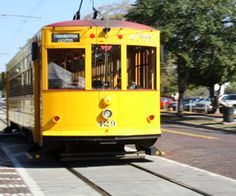 """""""Trolley Car"""" - Ybor City (Tampa), FL    If you have kids you want to ride this, it takes you from Ybor City to Downtown Tampa"""