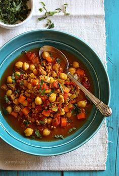 Moroccan Chickpea and Turkey Stewcountryliving