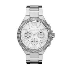 Michael Kors Camille Stainless Steel Glitz Watch #VonMaur