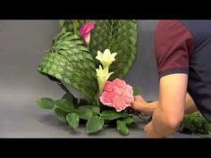 "B29 創意插花示範 Creative Flower Arrangement "" Weaving Skill """