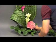 "B29 創意插花示範 Creative Flower Arrangement "" Weaving Skill """
