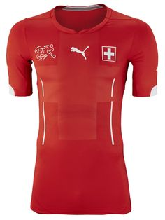 Switzerland 2014 World Cup Puma Home Kits