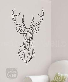 Unsere exklusiven geometrische Hirsch Kopf Wandtattoo ist sicher ein Gesprächsthema in Ihrem Haus geworden. Kombinieren die neuesten Trends für geometrische Gestaltung mit Waldtiere ergibt sich frisch und modern, aber auch klassische. Ideal für Ihr Wohn- oder Schlafzimmer, dies ist Teil unserer geometrischen Wald Wand Aufkleber Sammlung; Wir hoffen, dass Sie es lieben, wie wir tun! Australische gemacht  Wir verwenden hochwertige abnehmbare Vinyl ermöglicht es Ihnen, Schritt zu halten mit der…