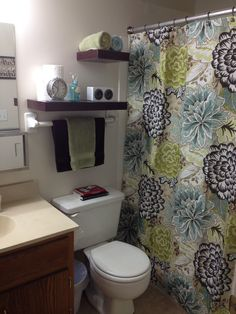 1000 images about single wide mobile home on pinterest for Cute bathroom ideas for college