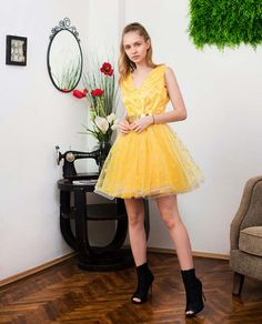 Rochie din stofa in carouri ANNE Homecoming Dresses, Clothes, Vintage, Style, Fashion, Cots, Outfits, Swag, Moda