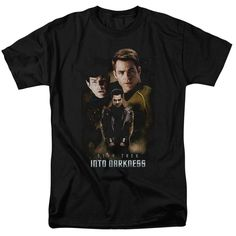 Behold the Star Trek: Movies - Aftermath Adult T-Shirt. Now you can be part of the hype with this black colored, officially licensed t-shirt made of 100% pre-shrunk cotton. This t-shirt is perfect for