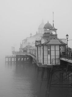 Eastbourne Pier in East Sussex, UK