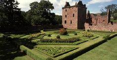 Edzell Castle Scotland - My Lindsey ancestors lived here