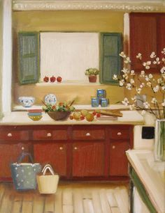 The Orchard Kitchen ~ Janet Hill: