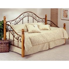 http://www.wayfair.com/Hillsdale-Furniture-San-Marco-Daybed-138-01-02-HF2258.html   Trundel available