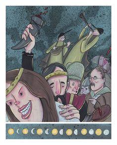 Zlatý kolovrat - Jan Gruml Grimm, Joker, Fictional Characters, Art, Art Background, Kunst, The Joker, Performing Arts, Fantasy Characters