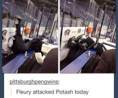 Marc-Andre Fleury hahahaha
