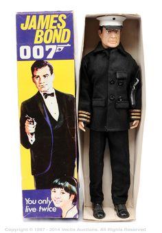 1967 Cecil Coleman James Bond Navy Commander Outfit