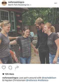 Celebrities show their love for North Fork Roasting Co....