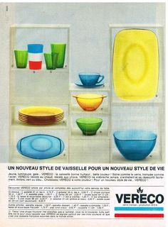 Publicité Advertising 1967 La Vaisselle Vereco