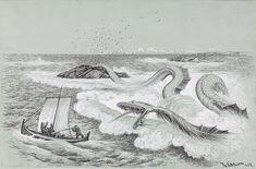 """Theodor Kittelsen - Illustration for """"Troldskab"""" 1892"""