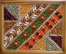 Мастер-класс Nature Crafts, Fall Crafts, Diy Crafts, Art For Kids, Crafts For Kids, Seed Art, Spoon Art, Mother Art, Waldorf Crafts