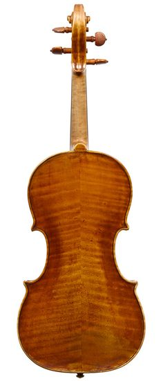 "A GOOD ITALIAN VIOLIN BY DAVID TECCHLER, ROME, c. 1732 Labeled, ""David Tecchler, Fecit Rome, Anno....""  The head later, attributed to Turin. The top re-edged and purfled. 	 LOB 35.3 cm"