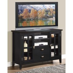 1000 ideas about tall tv stands on pinterest tv media stands tvs and entertainment centers for Tall tv stands for living room