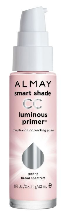 I have always used MAC Prep and Prime until I found this!!! It's amazing!  **Almay Smart Shade CC Luminous Primer