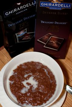Ghirardelli Twilight Delight Champorado (Sweet Chocolate Rice Porridge)