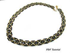 Bugle Bead Tutorial DIY Necklace Jewelry Tutorial Necklace