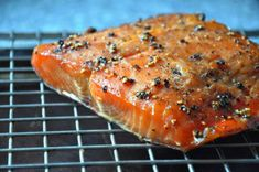 UNFORGETTABLE SMOKED SALMON | A Step by Step guide for smoking salmon like they do in the Pacific Northwest. Include dry rub and mop sauce recipe.