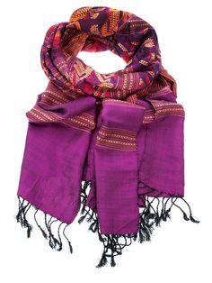 etnico vintage scarf